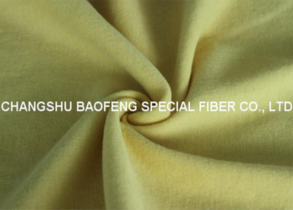 Para aramid knitting fabric