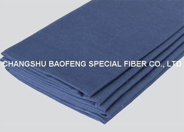 60/40 Modacrylic/Cotton in 210gsm navy blue