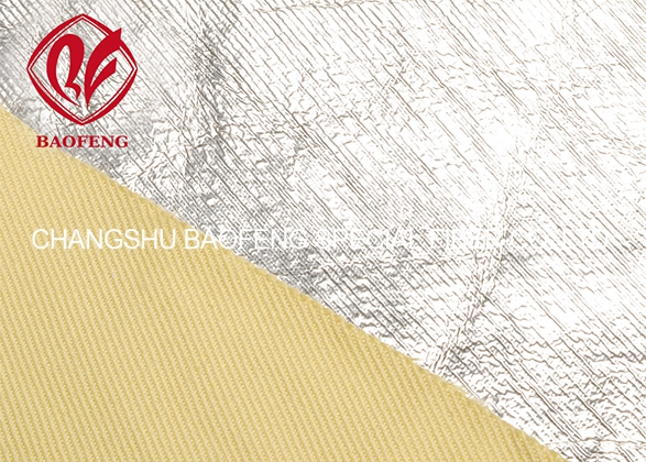 Para-aramid fabric Aluminized